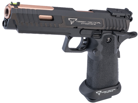 EMG TTI Licensed JW3 2011 Combat Master Airsoft Training Pistol w/ Custom Island Barrel (Model: CO2)