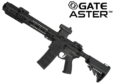 EMG / SAI Licensed GRY AR-15 AEG Training Rifle w/ JailBrake Muzzle w/ GATE ASTER Programmable MOSFET (Configuration: SBR / Black Non-ITAR)