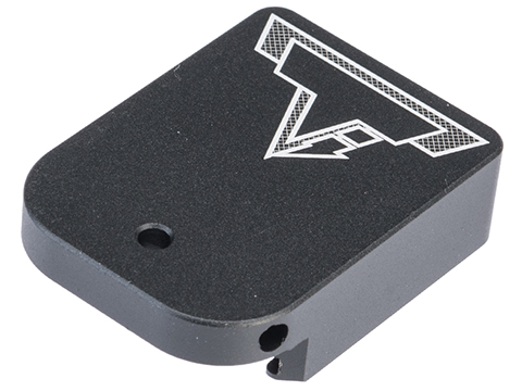 EMG / TTI Combat Master Magazine Base Plate for Hi-CAPA Gas Magazines (Model: No Charging Port / Black)