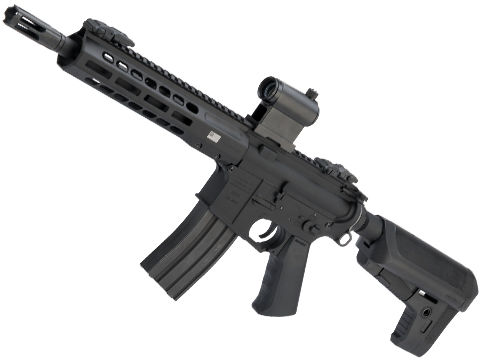 EMG / KRYTAC / BARRETT Firearms REC7 DI AR15 AEG Training Rifle (Length: SBR / Black)
