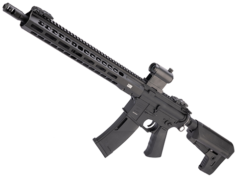 EMG / KRYTAC / BARRETT Firearms REC7 DI AR15 AEG Training Rifle (Length: Carbine / Black / 350 FPS)