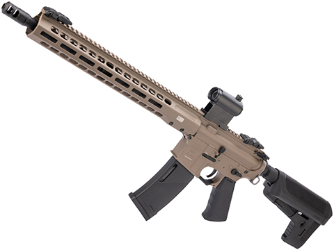 EMG / KRYTAC / BARRETT Firearms REC7 DI AR15 AEG Training Rifle (Length: Carbine / Flat Dark Earth / 350 FPS)