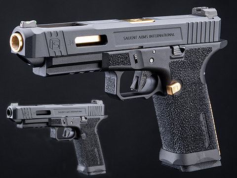 EMG / Salient Arms International BLU Airsoft Training Weapon w/ Tier One Competition Slide Kit