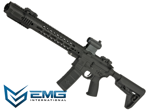 EMG / SAI GRY AR-15 AEG Training Rifle w/ JailBrake Muzzle (Model: Black Carbine Magpul)