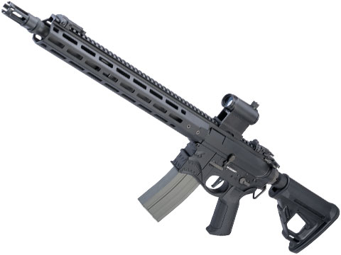 EMG / Sharps Bros Hellbreaker II Licensed Advanced M4 Airsoft AEG Rifle (Color: Black / 15 Carbine)