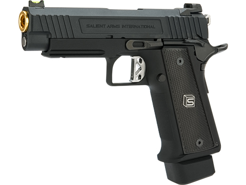 EMG / Salient Arms International 2011 DS Full Auto Select Fire GBB Pistol (Model: 4.3 CO2 / Black)