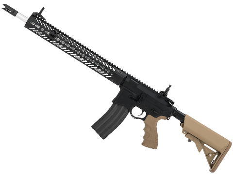 EMG Seekins Precision Licensed AR-15 SP223 Advanced Airsoft M4 AEG Rifle w/ G2 Gearbox (Color: Desert)