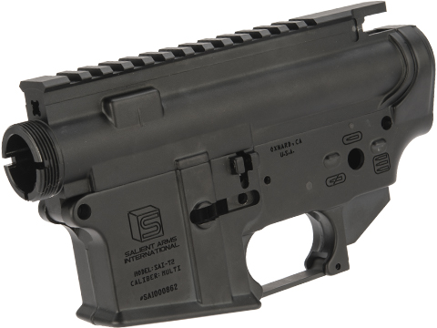 EMG SAI AR-15 Forged Receiver for Gas Blowback Airsoft Rifles by RA-Tech (System: WE-Tech)