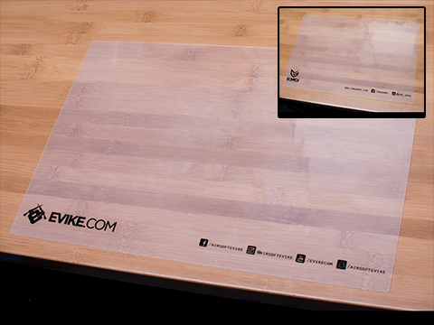EMG / Evike.com Transparent Rubber Counter Display Mat