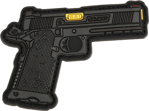 EMG Miniaturized Weapons PVC Morale Patch (Type: Salient Arms International RED 1911 DS)