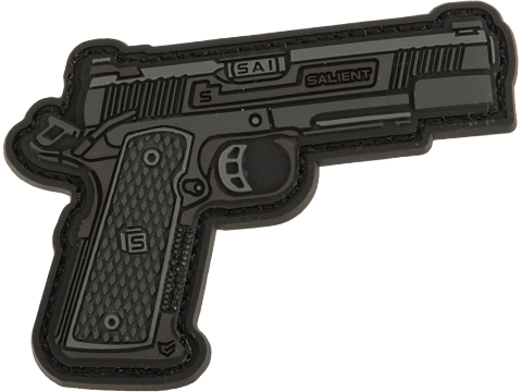 EMG Miniaturized Weapons PVC Morale Patch (Type: Salient Arms International RED 1911)