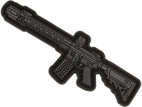 EMG Miniaturized Weapons PVC Morale Patch (Type: Salient Arms International GRY Carbine)