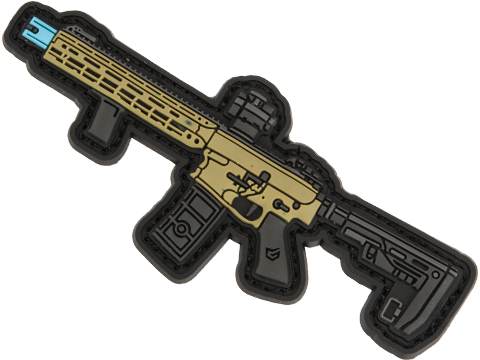 EMG Miniaturized Weapons PVC Morale Patch (Type: Falkor Blitz SBR AR15)