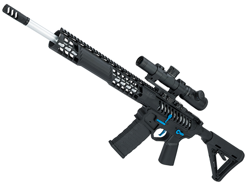EMG F-1 Firearms BDR-15 3G AR15 Full Metal Airsoft AEG Training Rifle 400 FPS (Model: Black / Blue / Magpul)