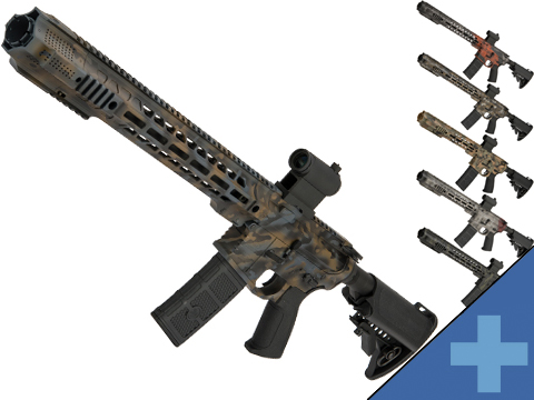 EMG / SAI GRY AR-15 AEG Training Rifle w/ JailBrake Muzzle w/ Black Sheep Arms Custom Cerakote