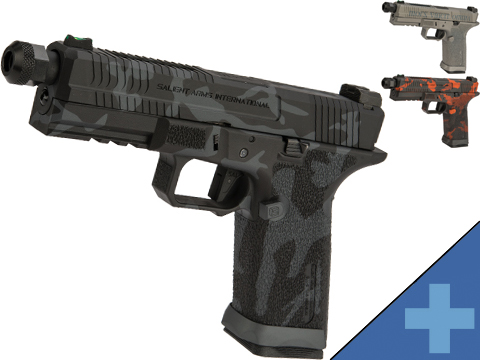 EMG Salient Arms International BLU Airsoft Training Weapon w/ Black Sheep Arms Custom Cerakote