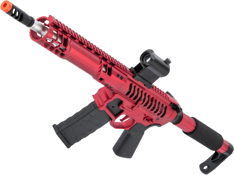 EMG F-1 Firearms SBR Airsoft AEG Training Rifle w/ eSE Electronic Trigger (Model: Red / Tron 350 FPS)