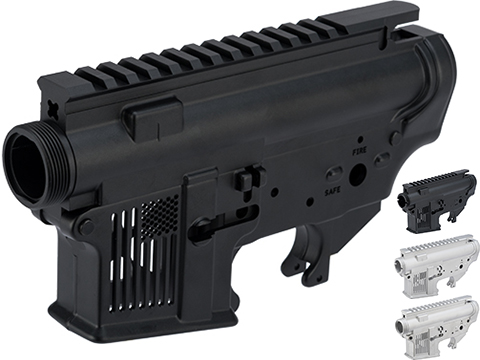 EMG F-1 Firearms Skeletonized FDR-15 Forged Receiver for Gas Blowback Airsoft Rifles by RA-Tech