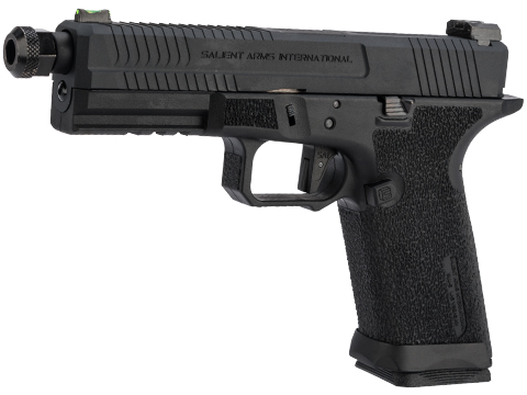 EMG Salient Arms International BLU Standard Airsoft Training Weapon (Model: Blackout w/ Green Gas Mag)