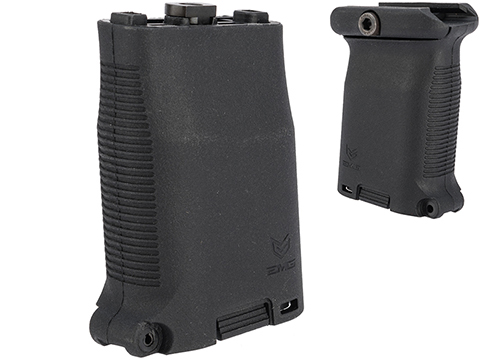 EMG Stubby Storage Compartment Vertical Grip (Color: Black / Picatinny)