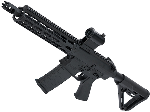 EMG Falkor Blitz Compact M4 w/ eSilverEdge Gearbox Airsoft AEG Training Rifle (Color: Black / RS3 Stock / 350 FPS)