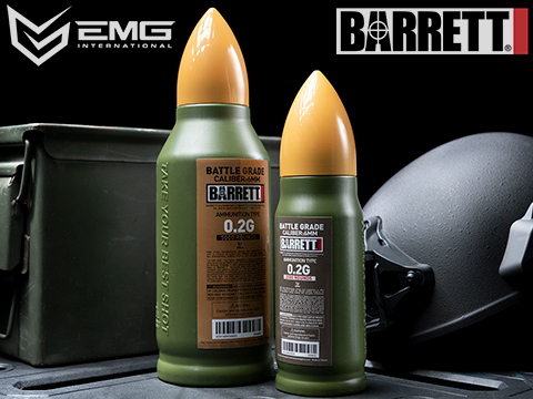 EMG Barrett Licensed Battle Grade 6mm Airsoft BBs