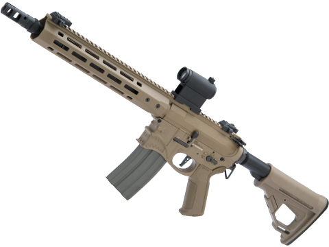 EMG / Sharps Bros Hellbreaker II Licensed Advanced M4 Airsoft AEG Rifle (Color: Tan / 10 SBR)