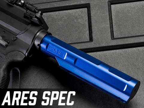 EMG 8-Position Ultimate M4 AR-15 Buffer Tube (Type: ARES Spec / Electric Blue)
