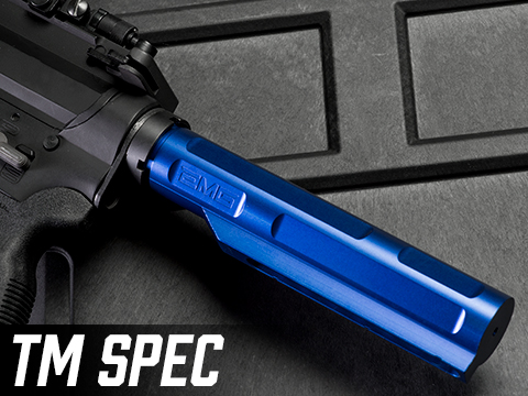 EMG 8-Position Ultimate M4 AR-15 Buffer Tube (Type: Tokyo Marui Spec / Electric Blue)