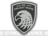MOH PVC Morale Patch (Style: Eagle / Black)