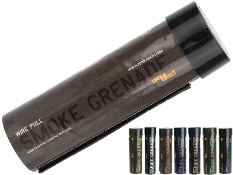 Enola Gaye Airsoft Wire Pull Smoke Grenade (Color: Black)