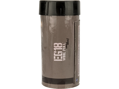 Enola Gaye EG18 High Output Airsoft Wire Pull Large Smoke Grenade (Color: Black)