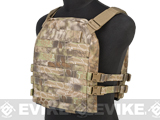 Mission Spec Essentials Only Carrier (EOC) Tactical High Speed Plate Carrier - Kryptek Highlander