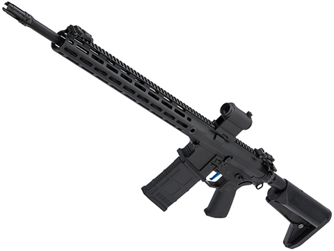 Evike Performance Shop Custom CYMA SR-25 QBS Airsoft AEG Designated Marksman Rifle (Model: 16.5 M-LOK)