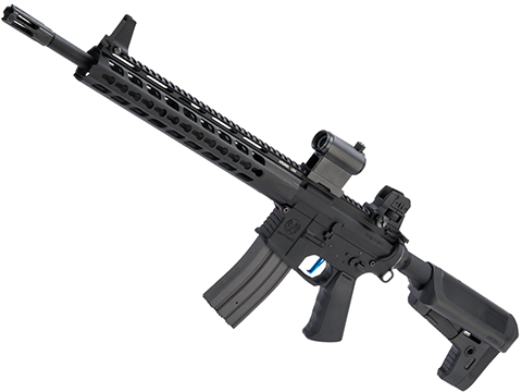 Evike Performance Shop Custom Krytac SPR MKII Airsoft AEG Rifle (Model: Black / 400 FPS)