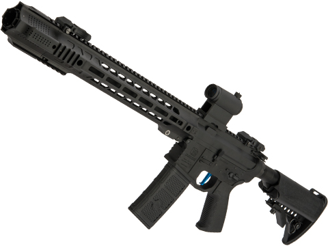 Evike Performance Shop Custom EMG / SAI GRY AR-15 AEG Training Rifle (Configuration: Carbine / Black / Black Export Furniture / 365 FPS)