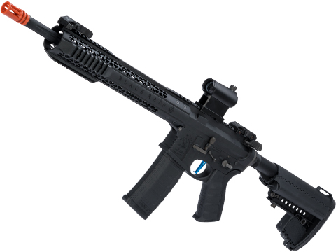 Evike Performance Shop Custom EMG / BRO SPEC15 Airsoft AEG Rifle (Configuration: Rifle / Black)