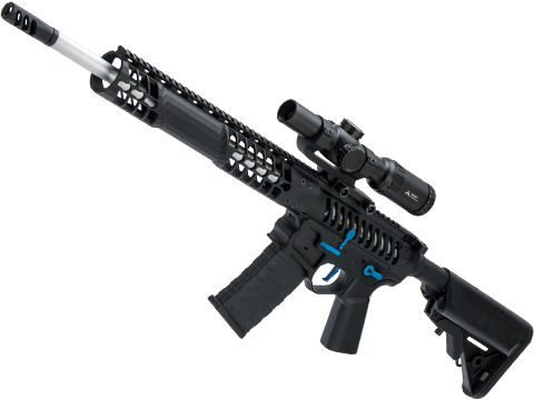 Evike Performance Shop Custom EMG F-1 Firearm BDR-15 Airsoft AEG Rifle (Model: Black / 400 FPS)
