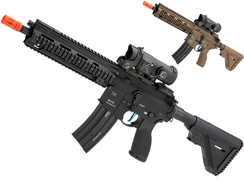 Evike Performance Shop Custom VFC H&K 416 A5 AEG Airsoft Rifle (Color: Black / 350 FPS / Gate TITAN)