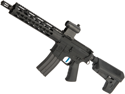 Evike Performance Shop Custom Krytac CRB MKII Airsoft AEG Rifle (Model: Black / 345 FPS)
