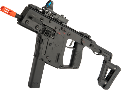 Evike Performance Shop Custom Krytac Kriss Vector Airsoft AEG SMG (Model: Black / 345 FPS)