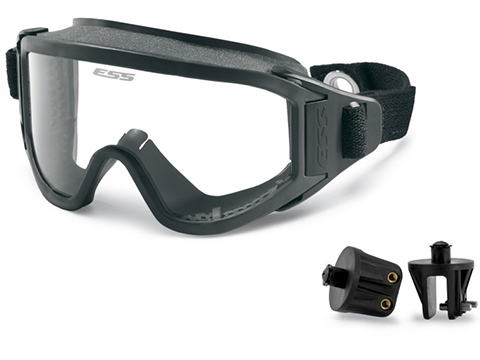 ESS Innerzone 2 One Piece Full Seal Goggles with Snap On/Off Mounting Brackets