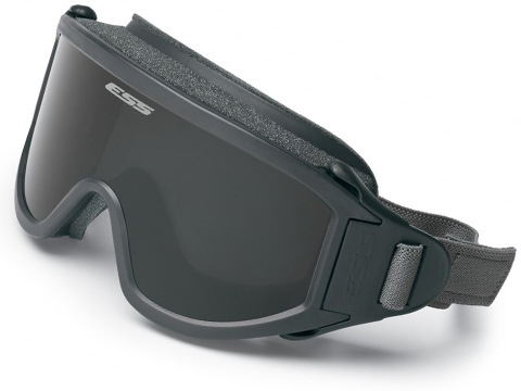 ESS Flight Deck Ballistic Goggle (Color: Gray / Smoke Gray Lens)