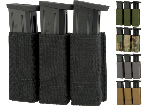 Esstac Triple Pistol Magazine KYWI Pouch (Color: Black)