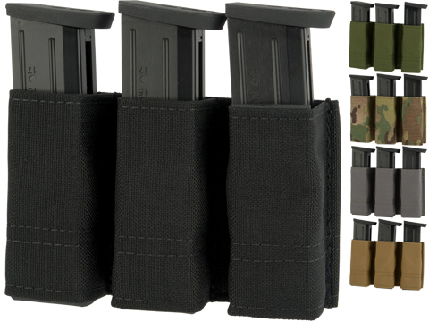 Esstac Triple Pistol GAP Magazine Pouch with Belt Loops