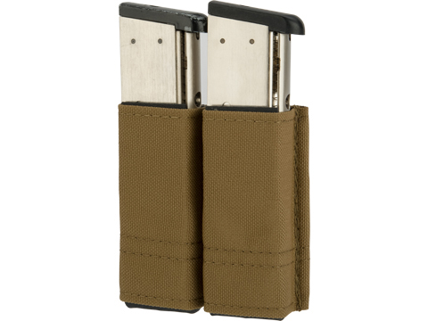 Esstac 1911 Double Magazine KYWI Pouch (Color: Coyote Brown)