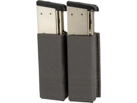 Esstac 1911 Double Magazine KYWI Pouch (Color: Wolf Grey)