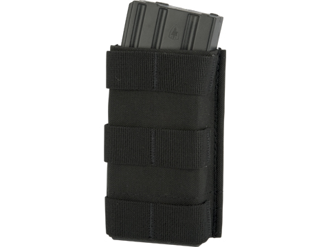 Esstac Single Tall 5.56mm KYWI Magazine Pouch (Color: Black)