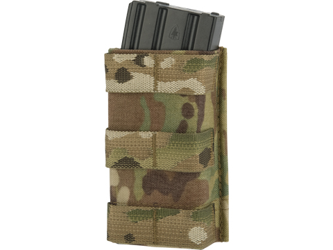 Esstac Single Tall 5.56mm KYWI Magazine Pouch (Color: Multicam)