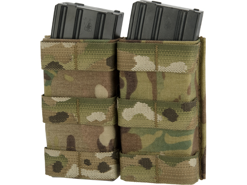 Esstac Double 5.56mm Tall KYWI Magazine Pouch (Color: Multicam)